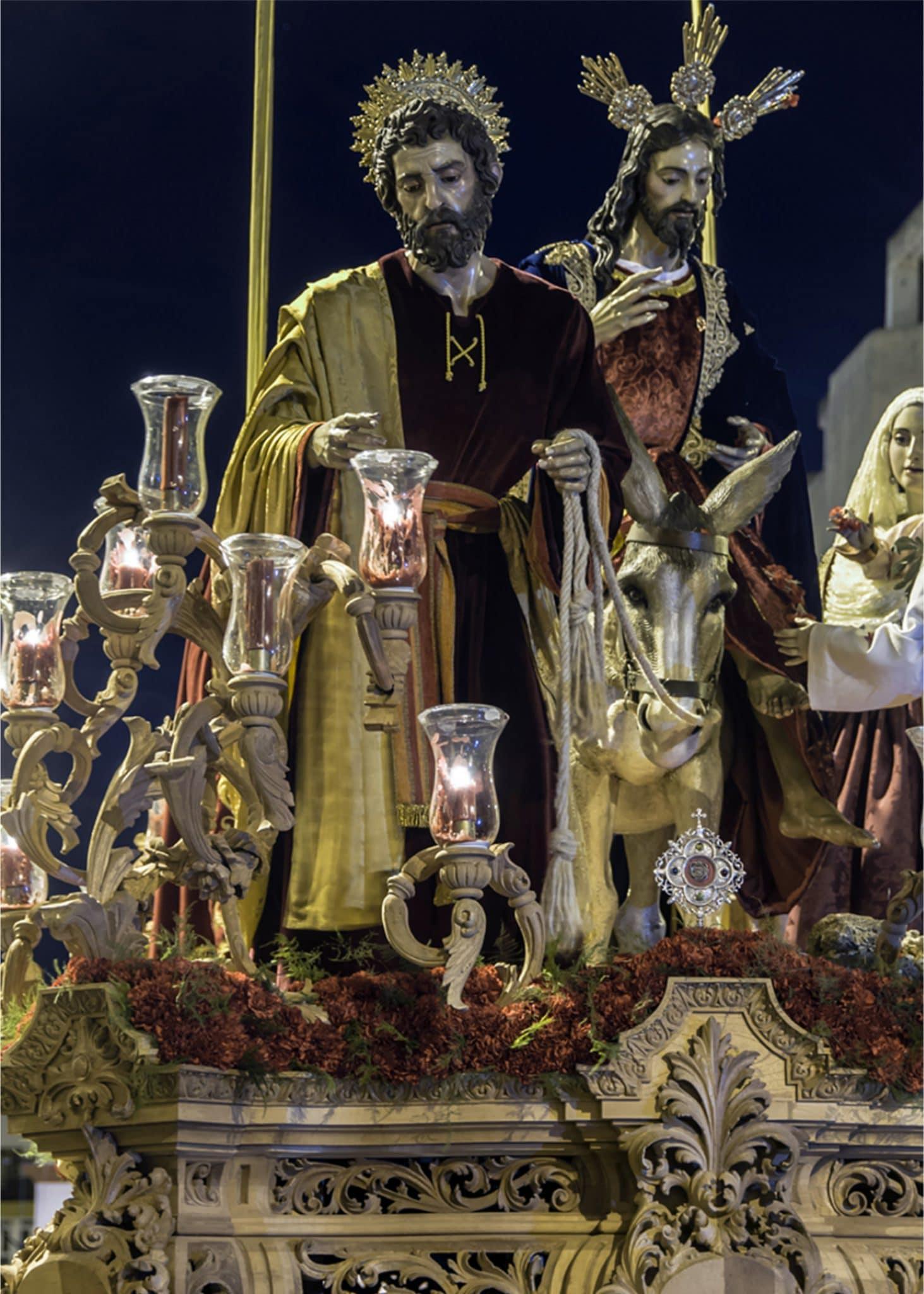 Semana Santa en San Fernando - Borriquita