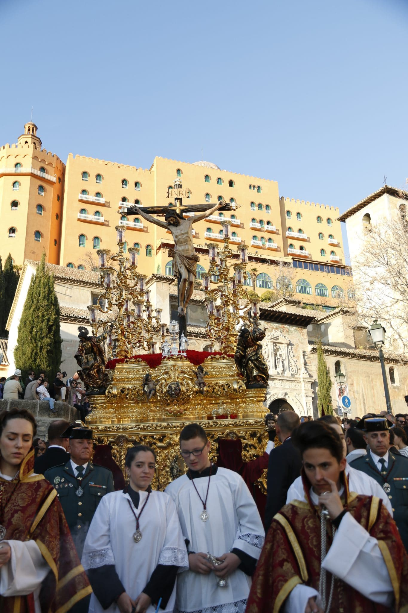 Semana Santa en Granada - Favores