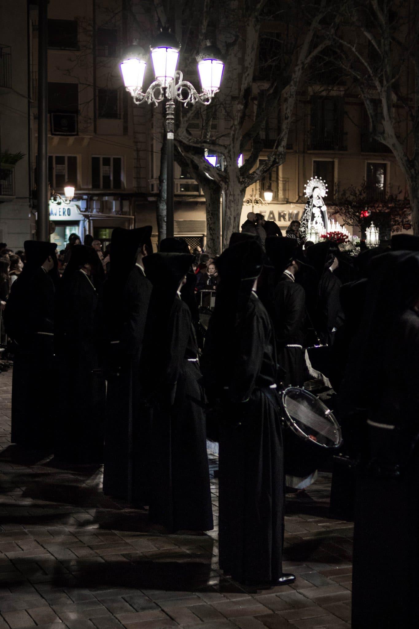 Semana Santa en Zaragoza - Procesión del Encuentro Dolorosa