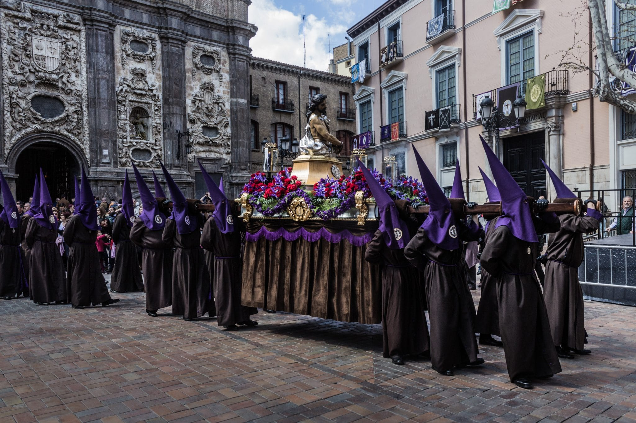 Semana Santa en Zaragoza - Procesion Titular Coronación