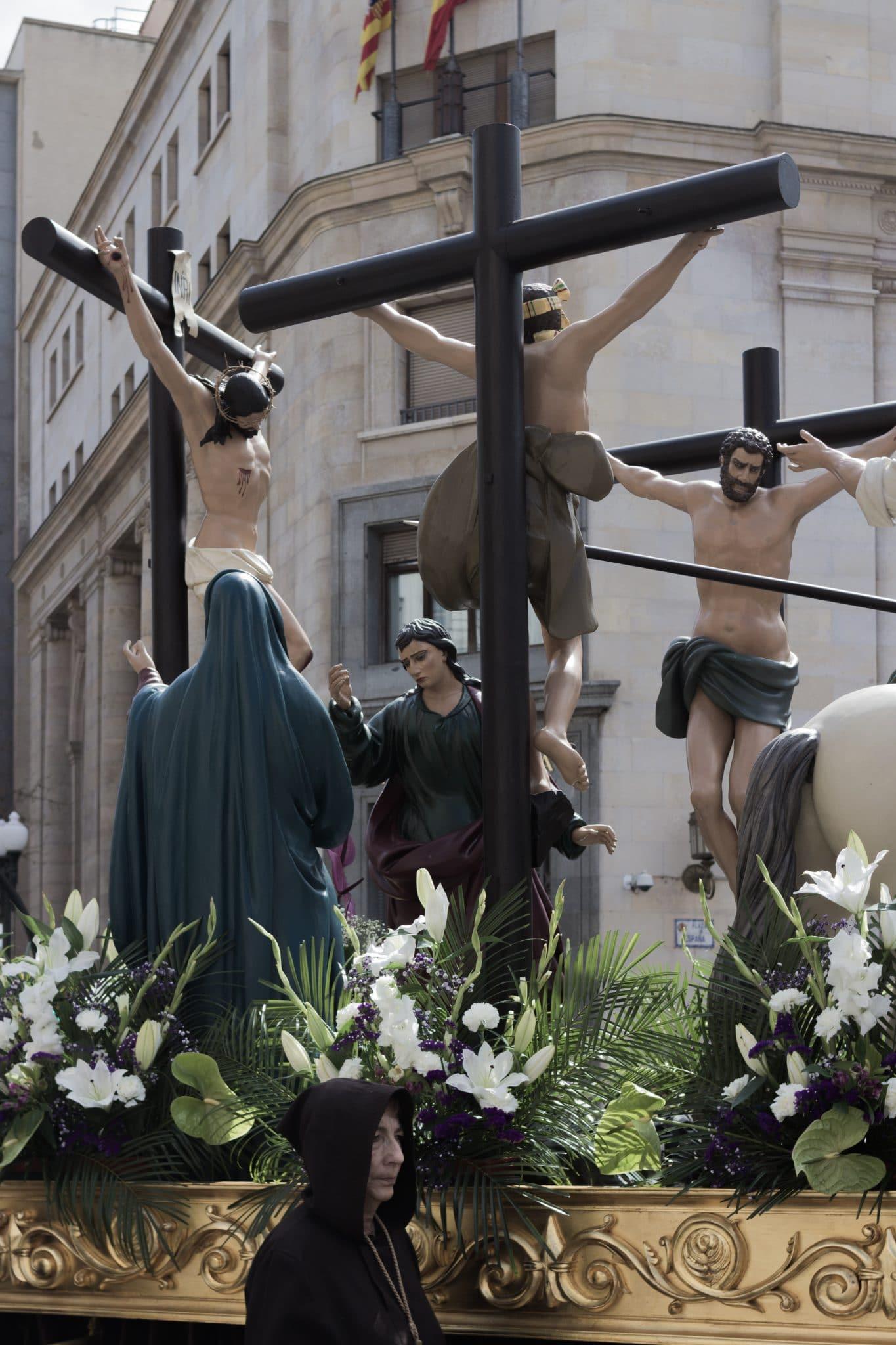 Procesión Titular (Crucifixión) (Zaragoza) 1