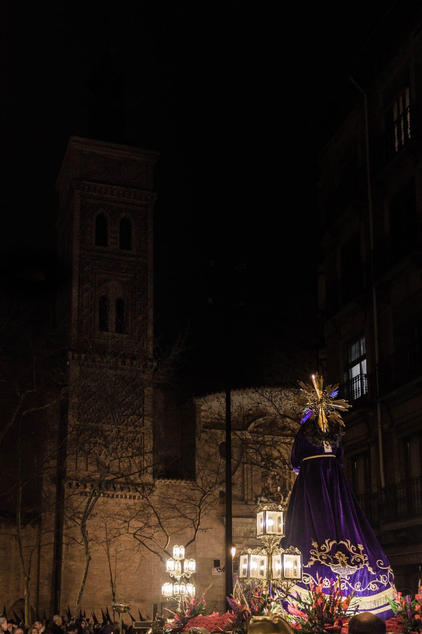 Semana Santa en Zaragoza - Via Crucis Nazareno