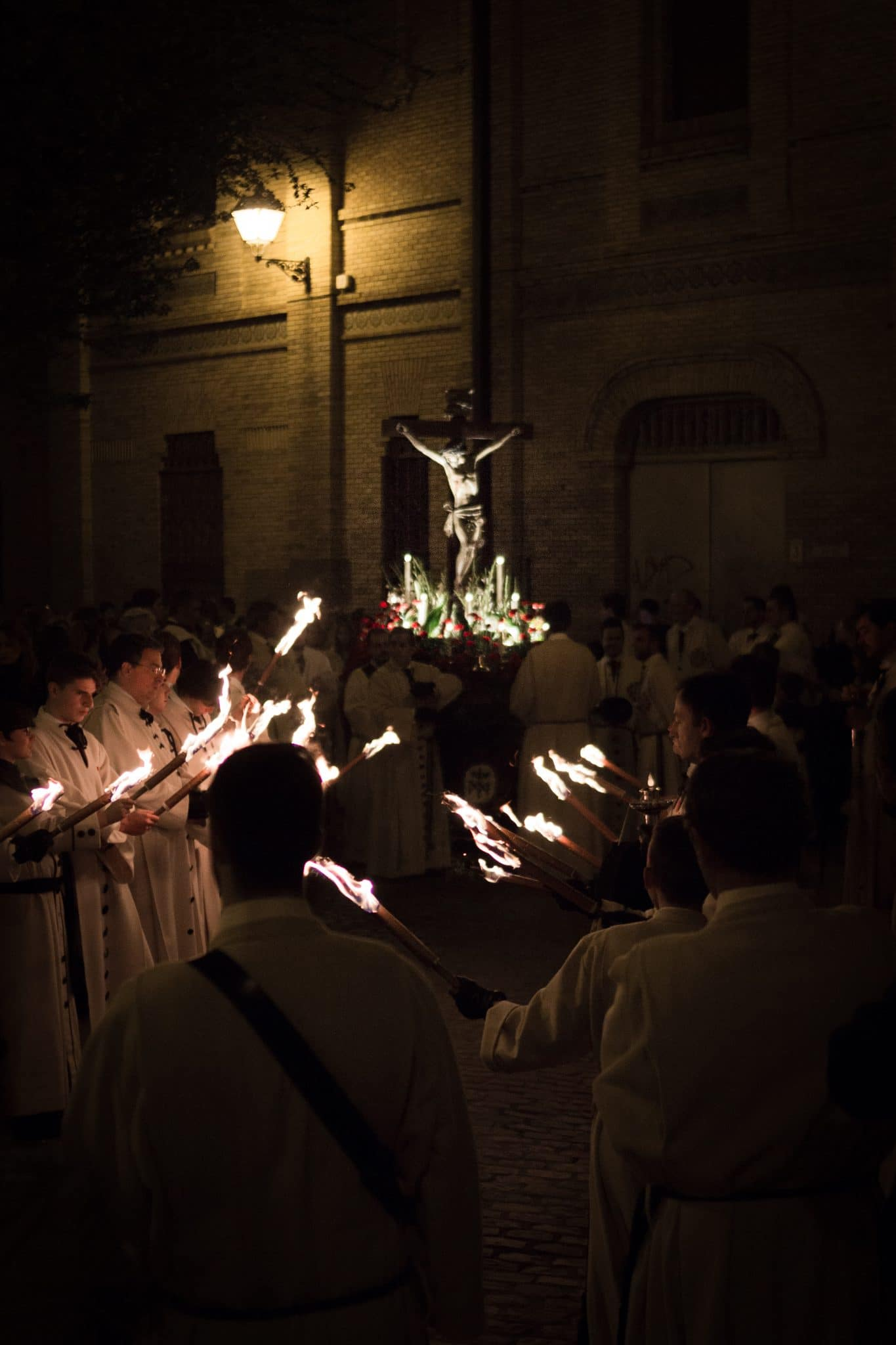 Semana Santa en Zaragoza - Via Crucis Piedad