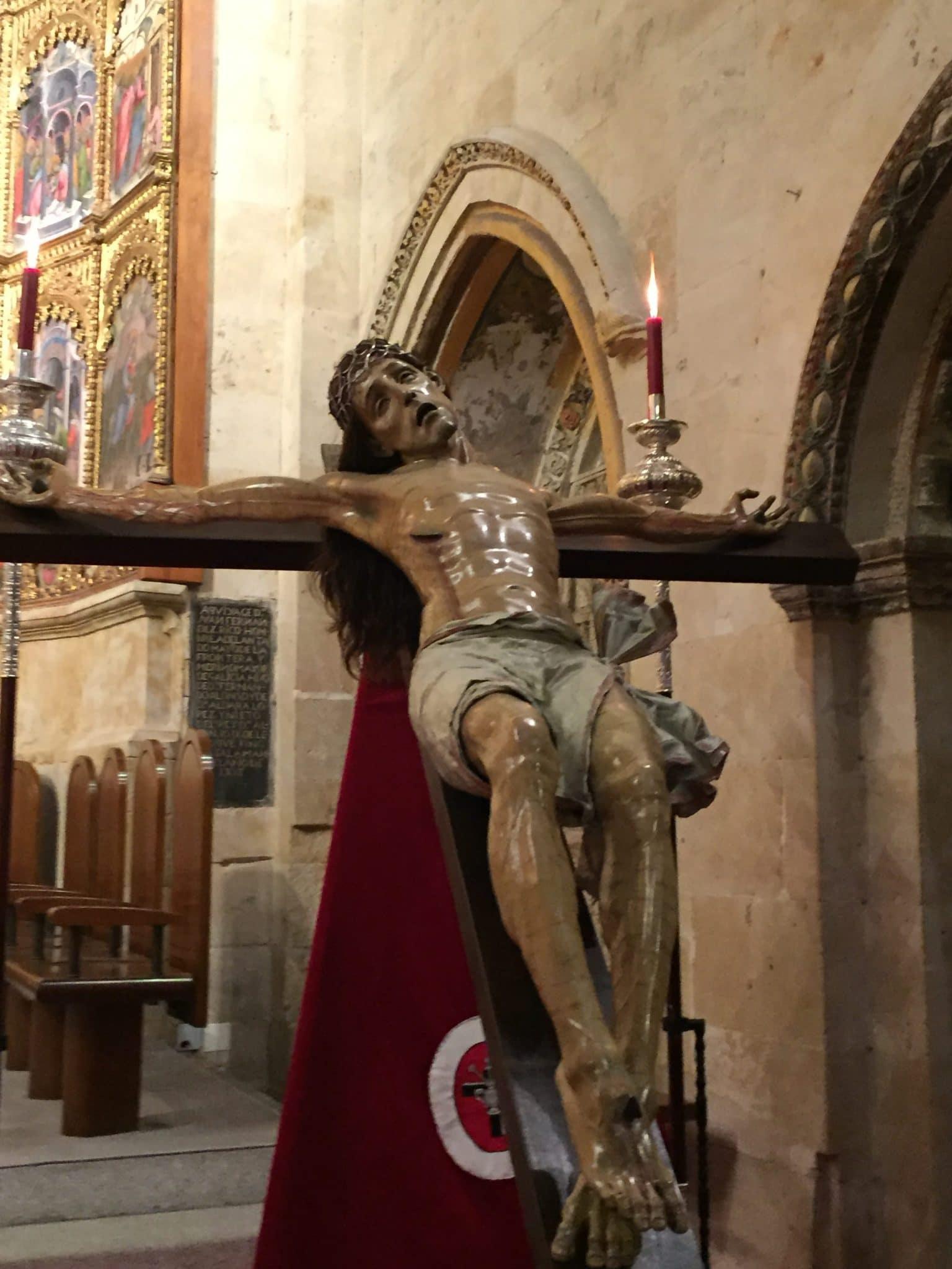 Cristo Yacente Salamanca