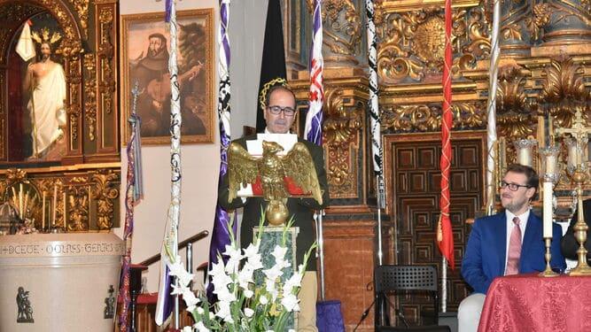 José Carmona pregonero de la Semana Santa de 2020