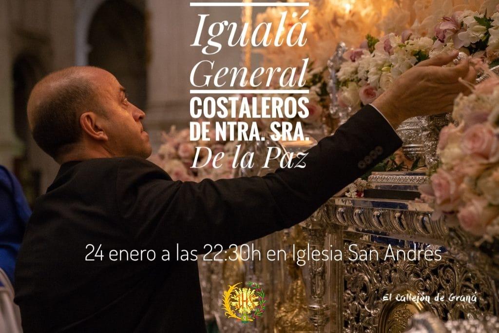 Igualá Costaleros Virgen Borriquilla (Granada)