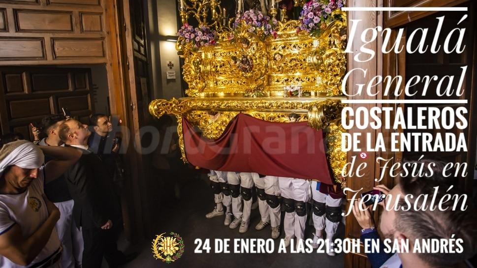 Iguala Cofradía Borriquilla Granada