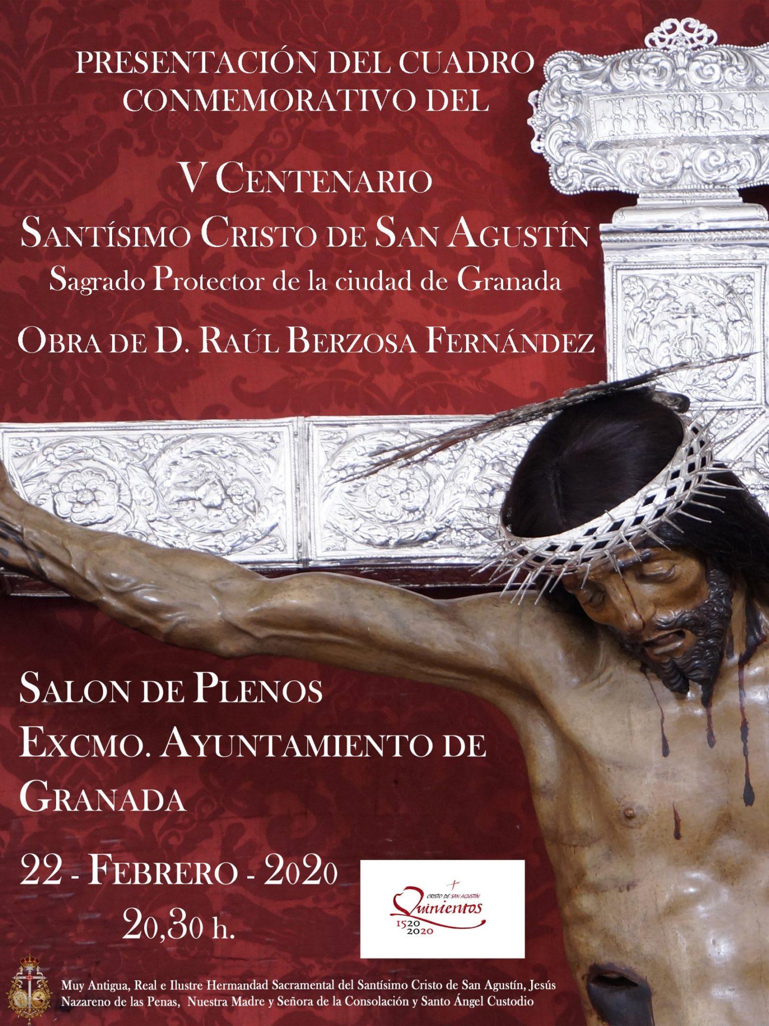 Cuadro V Centenario San Agustín