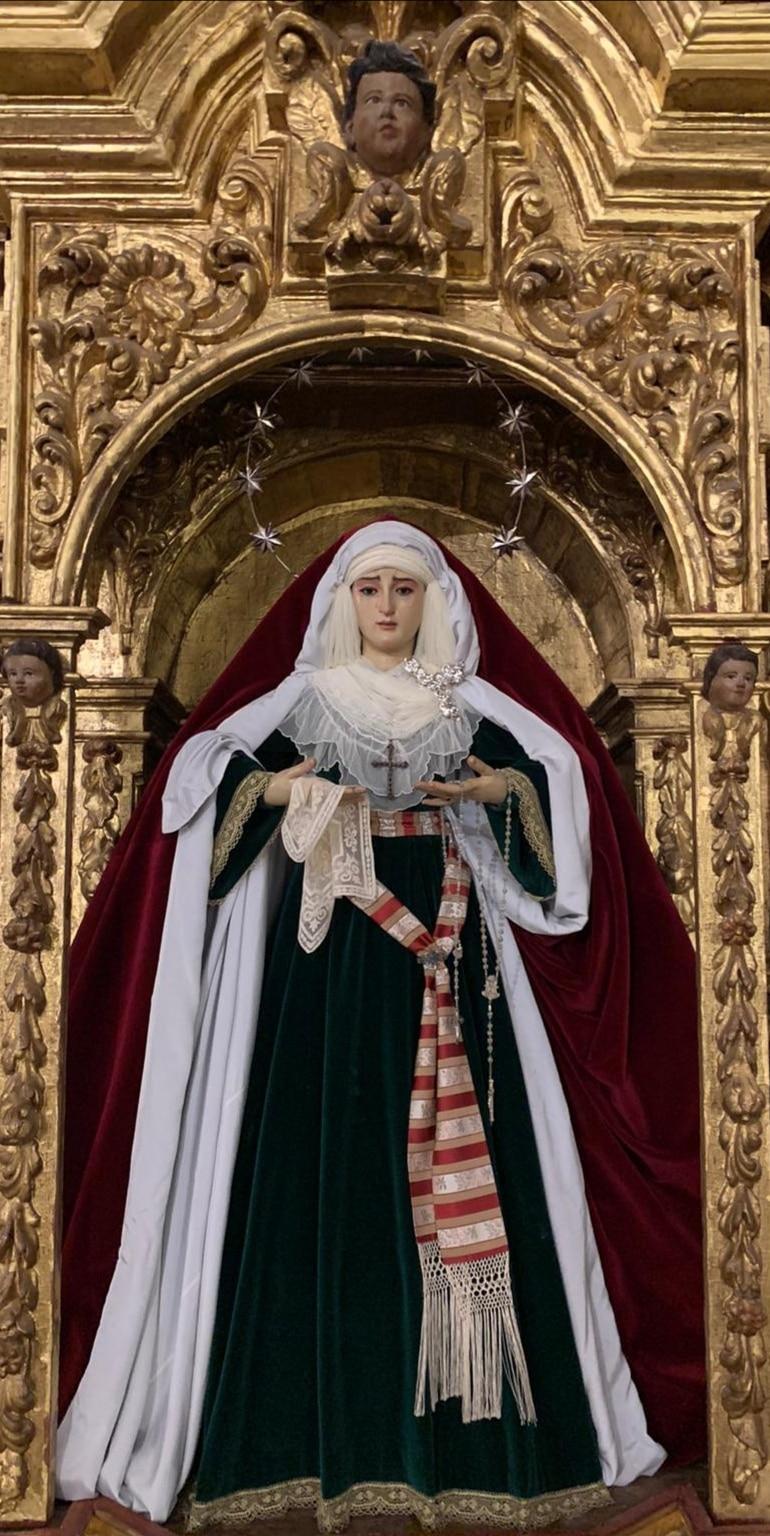 Ntra. Sra. de los Dolores en su Soledad - Castilblanco