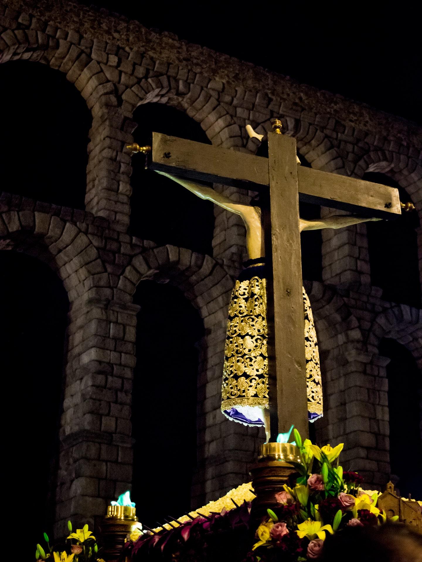 Cristo del mercado, jueves santo(1), Segovia (Manu Rodrigo)