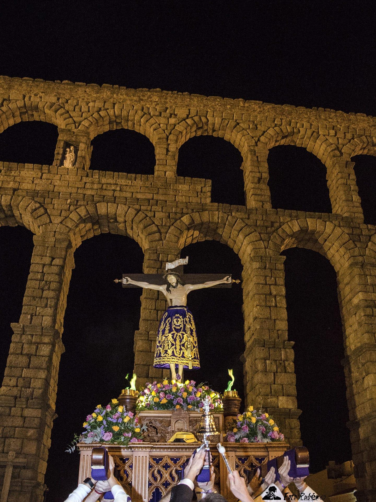 Procesión Santo Cristo del Mercado, Segovia 1