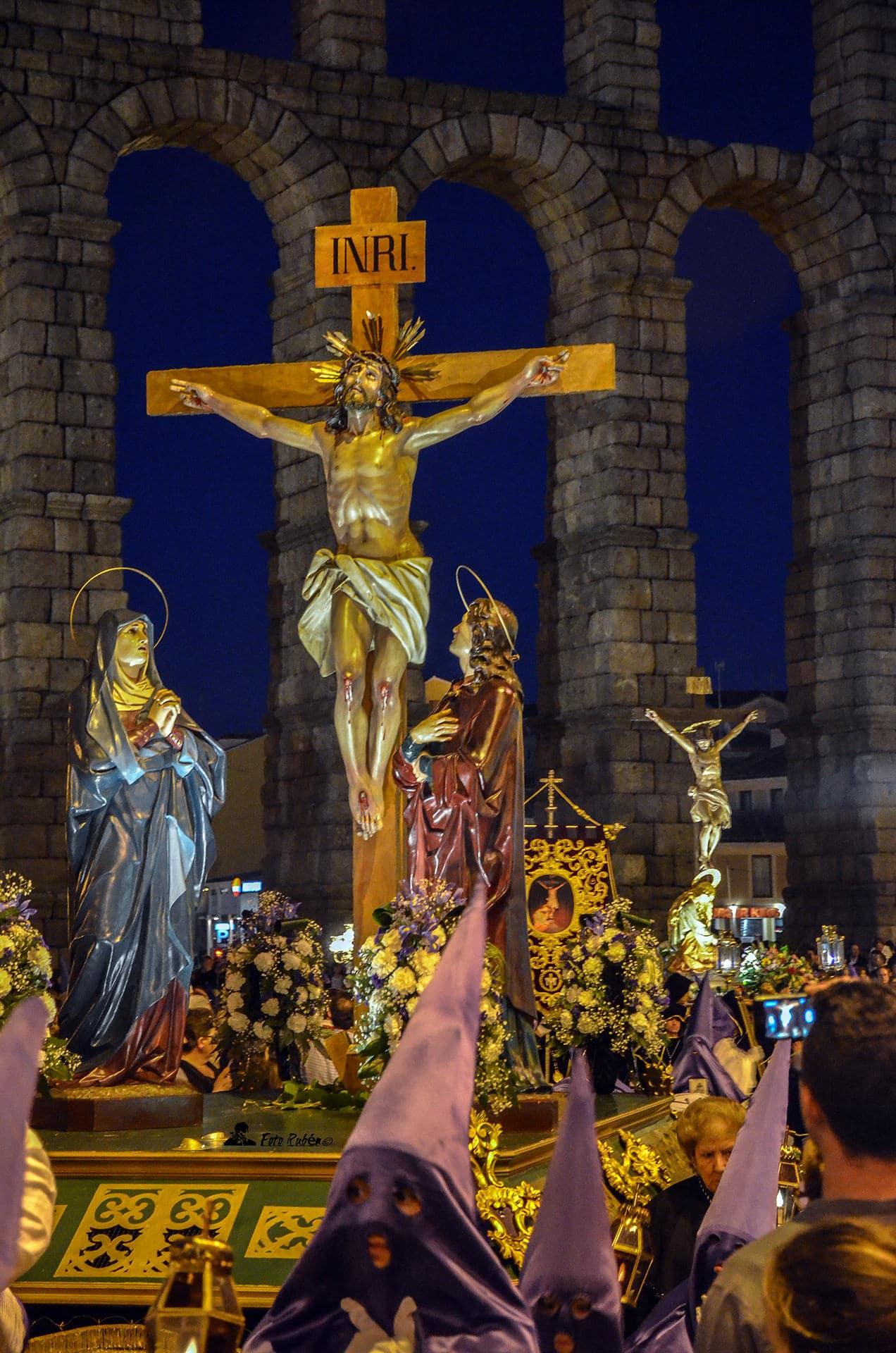 Procesión de El Calvario, La Magdalena al Pie de la Cruz y Ntrs. Sr. de la Piedad, Segovia1