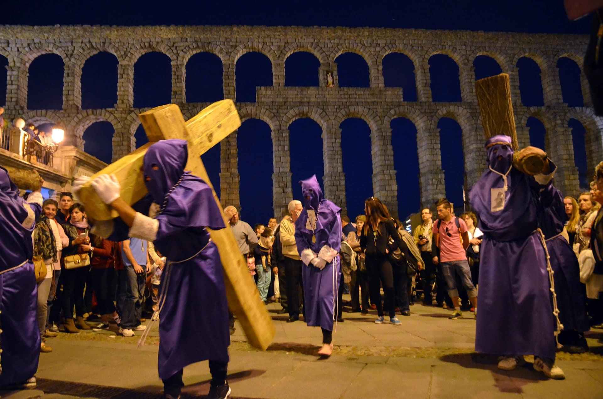 Procesión de El Calvario, La Magdalena al Pie de la Cruz y Ntrs. Sr. de la Piedad, Segovia2