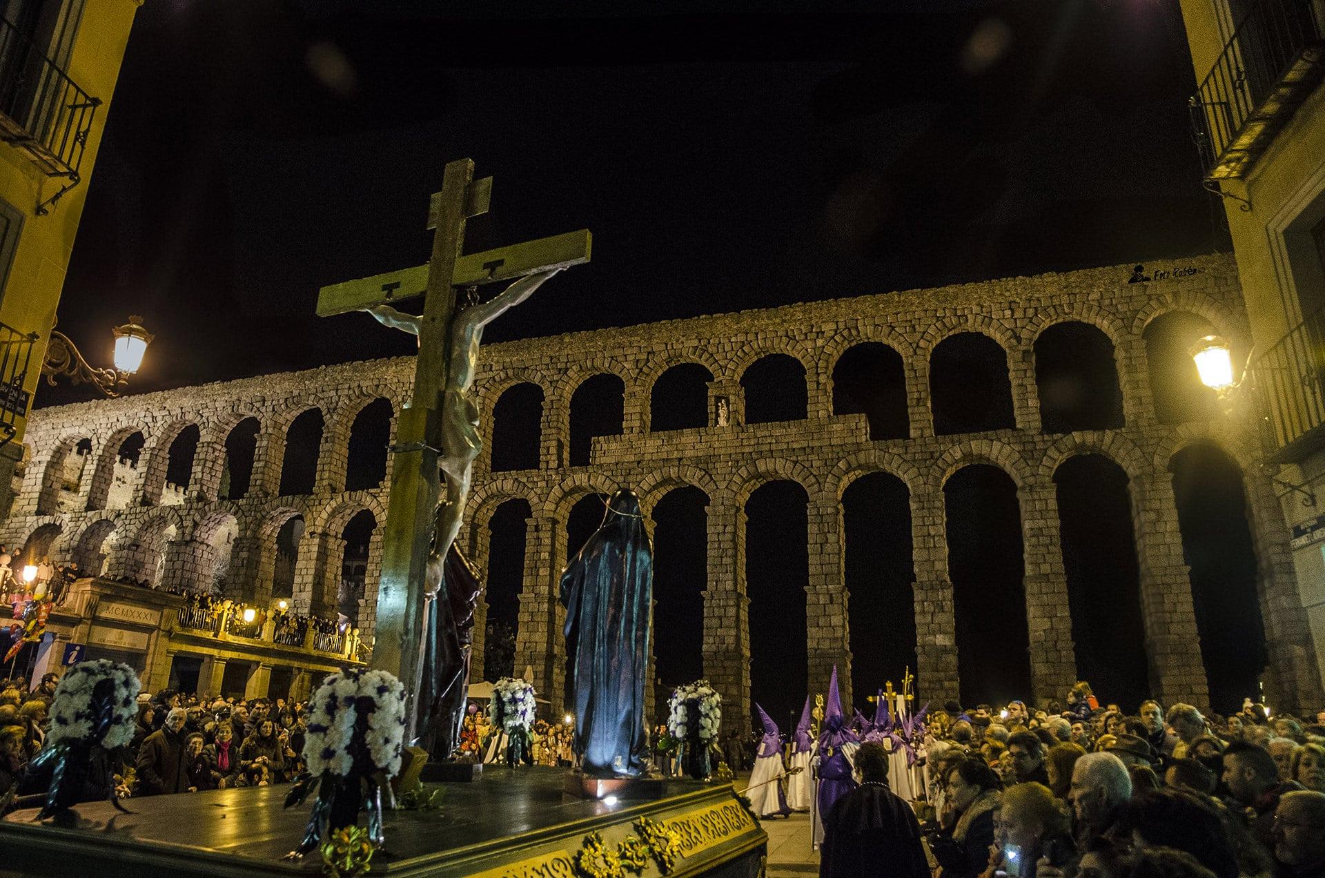 Procesión de El Calvario, La Magdalena al Pie de la Cruz y Ntrs. Sr. de la Piedad, Segovia3