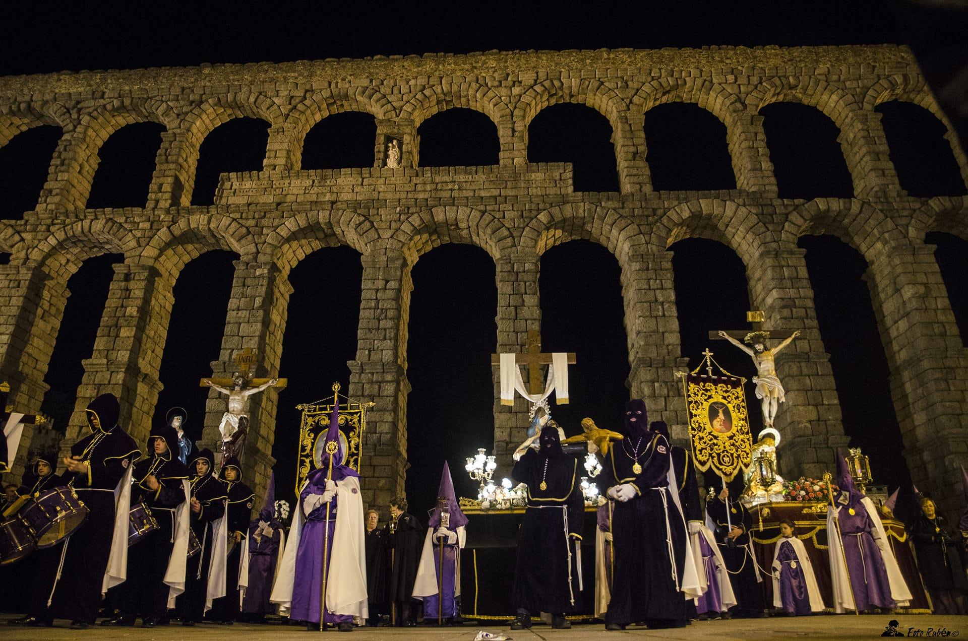 Procesión de El Calvario, La Magdalena al Pie de la Cruz y Ntrs. Sr. de la Piedad, Segovia4