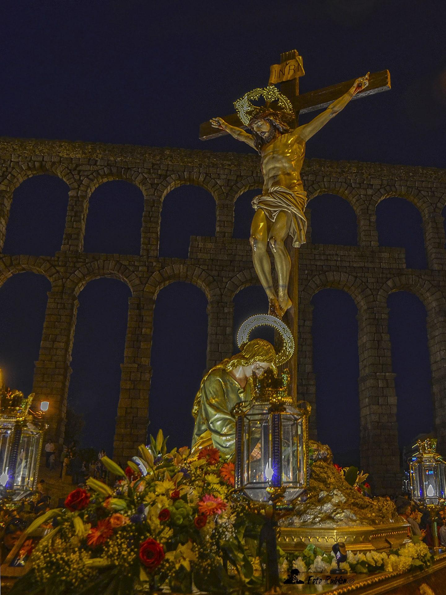 Procesión de El Calvario, La Magdalena al Pie de la Cruz y Ntrs. Sr. de la Piedad, Segovia5