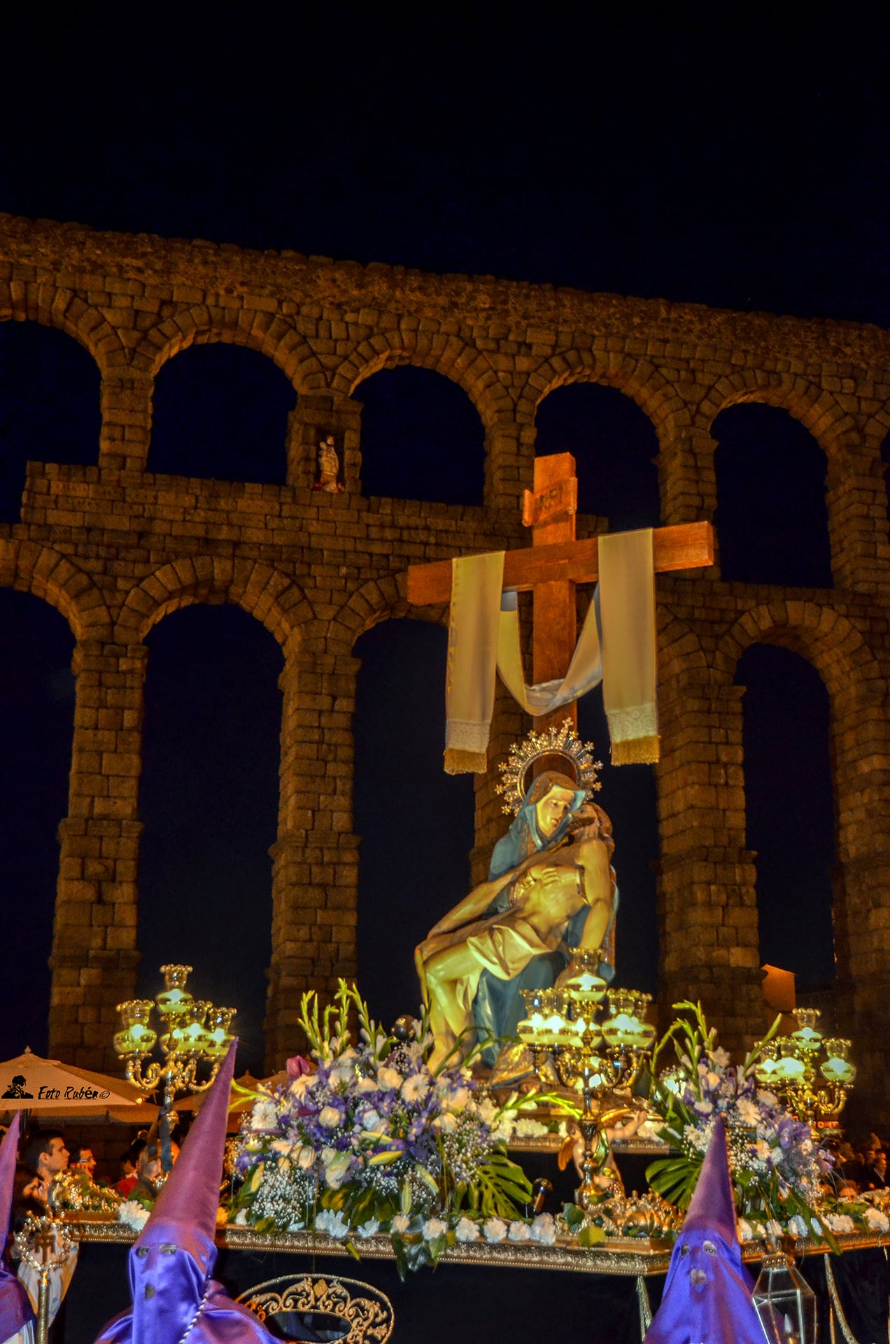 Procesión de El Calvario, La Magdalena al Pie de la Cruz y Ntrs. Sr. de la Piedad, Segovia6
