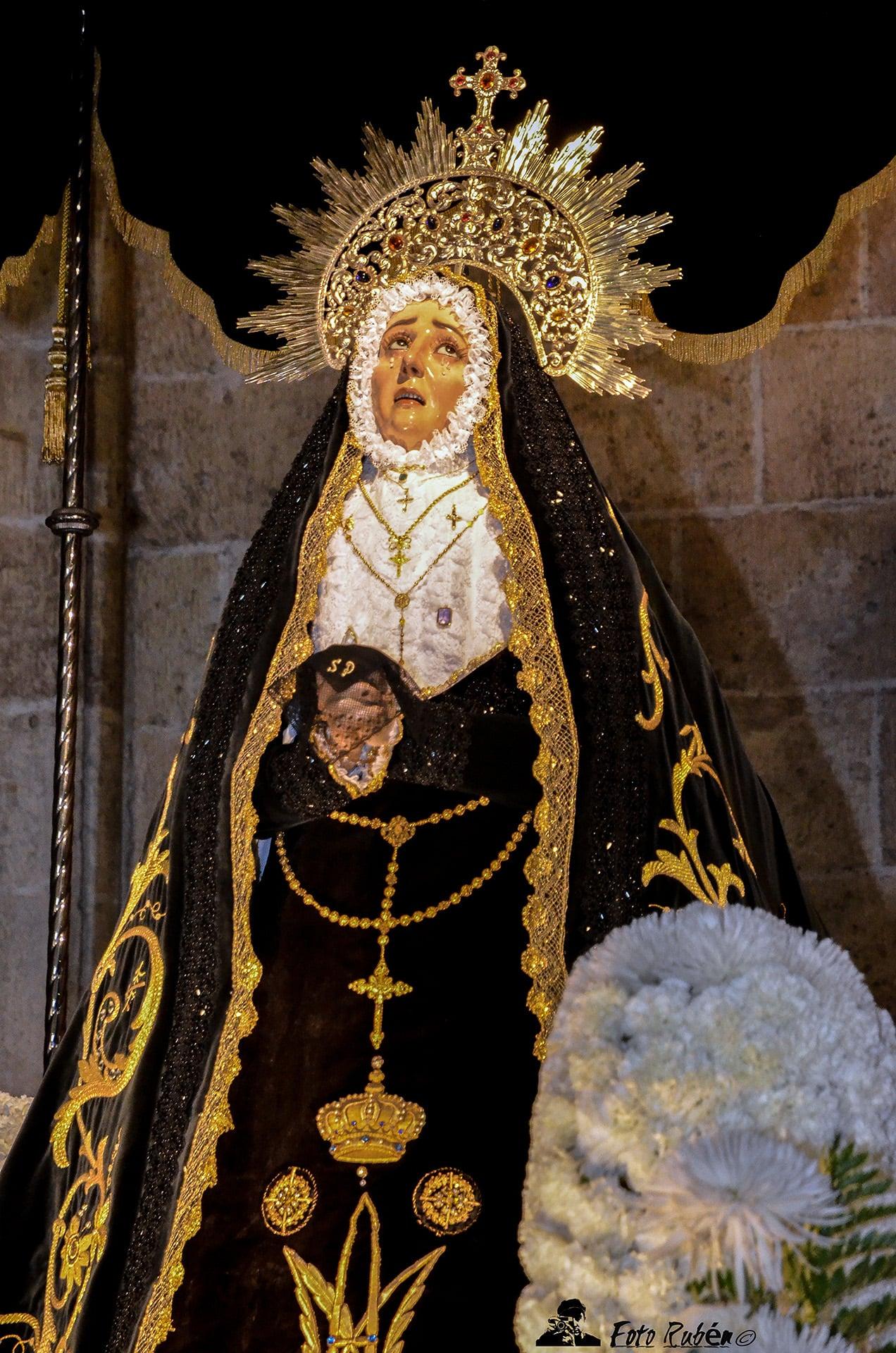 Procesión de Ntra. Sra. de la Soledad Dolorosa, Segovia 3
