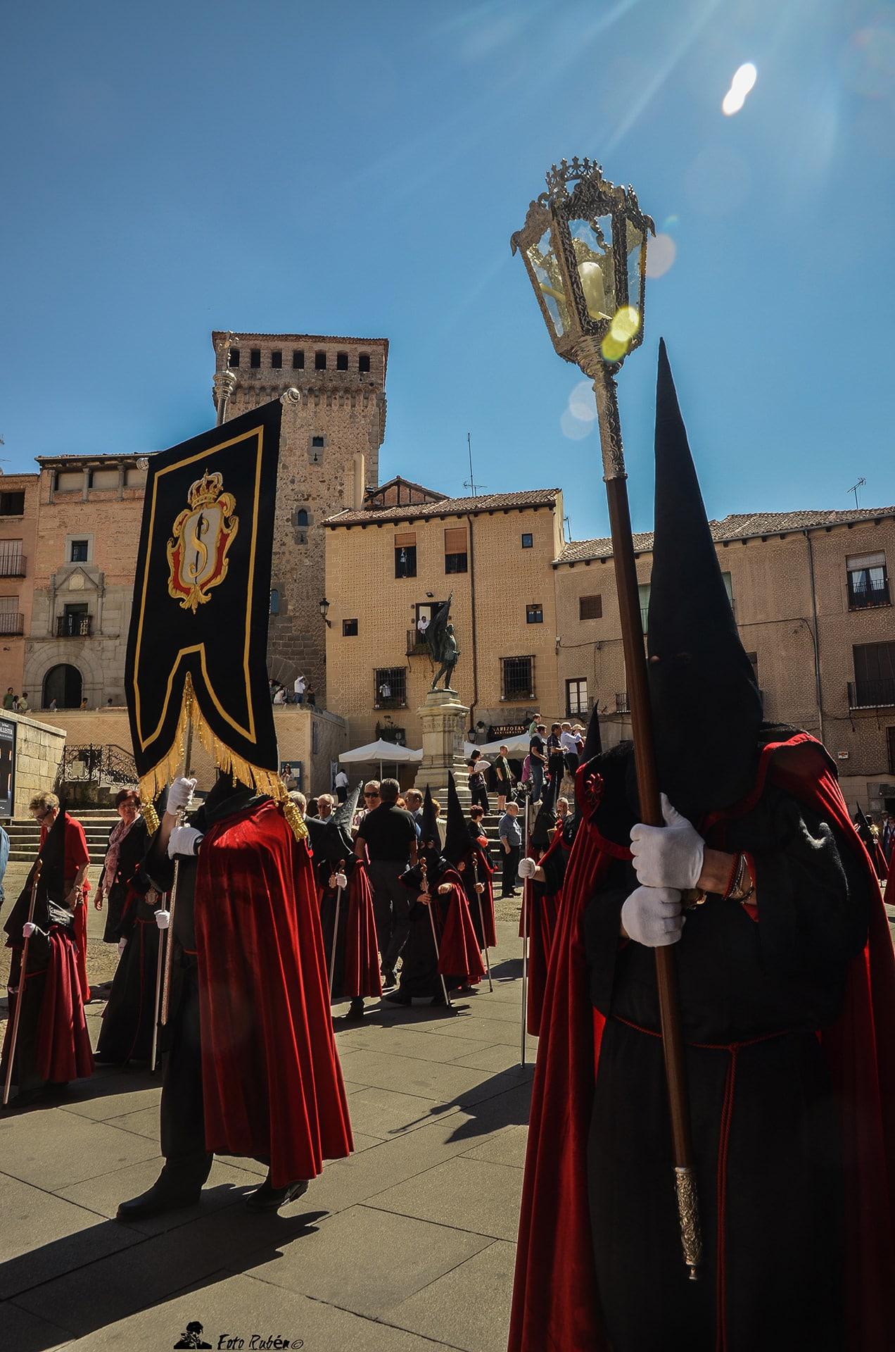 Procesion Santo Cristo de los Gascones, Segovia1