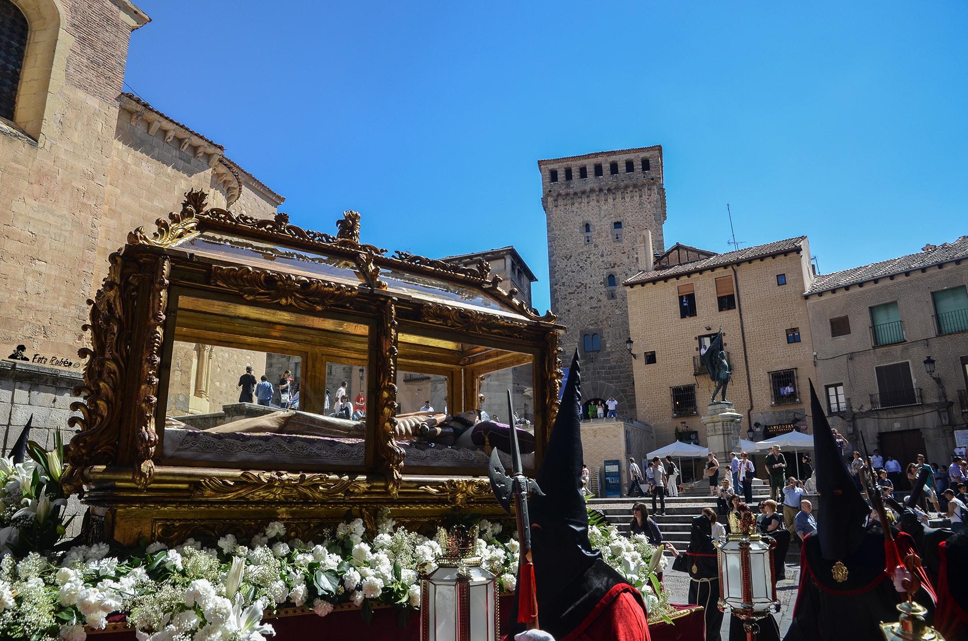 Procesion Santo Cristo de los Gascones, Segovia2