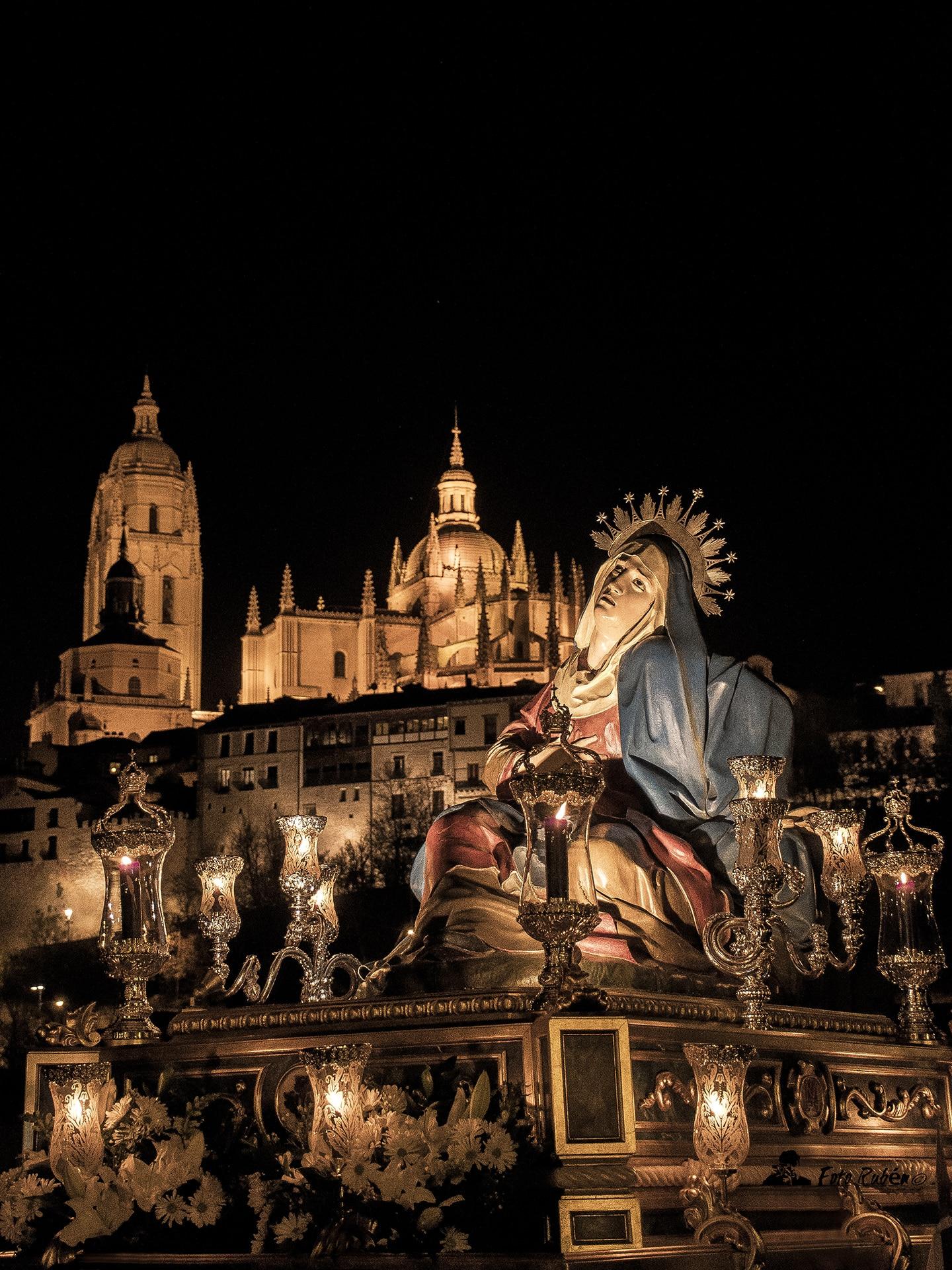 Procesion de Ntra. Madre Marçia Santismima de las Angustias, Segovia1