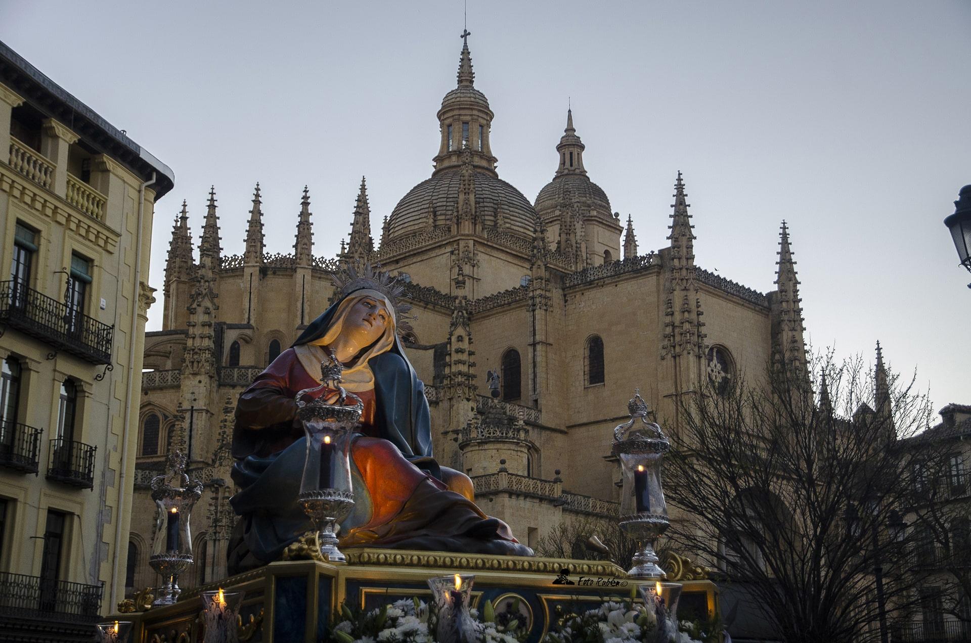 Procesion de Ntra. Madre Marçia Santismima de las Angustias, Segovia2