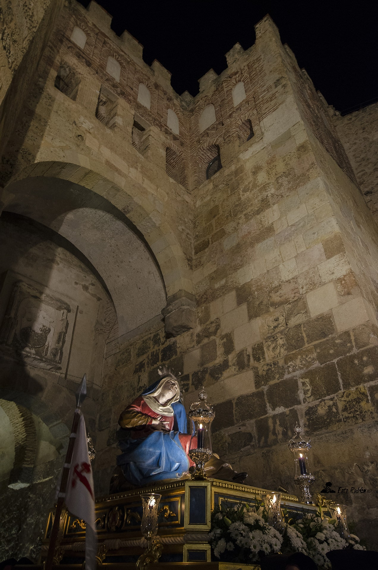 Procesion de Ntra. Madre Marçia Santismima de las Angustias, Segovia5