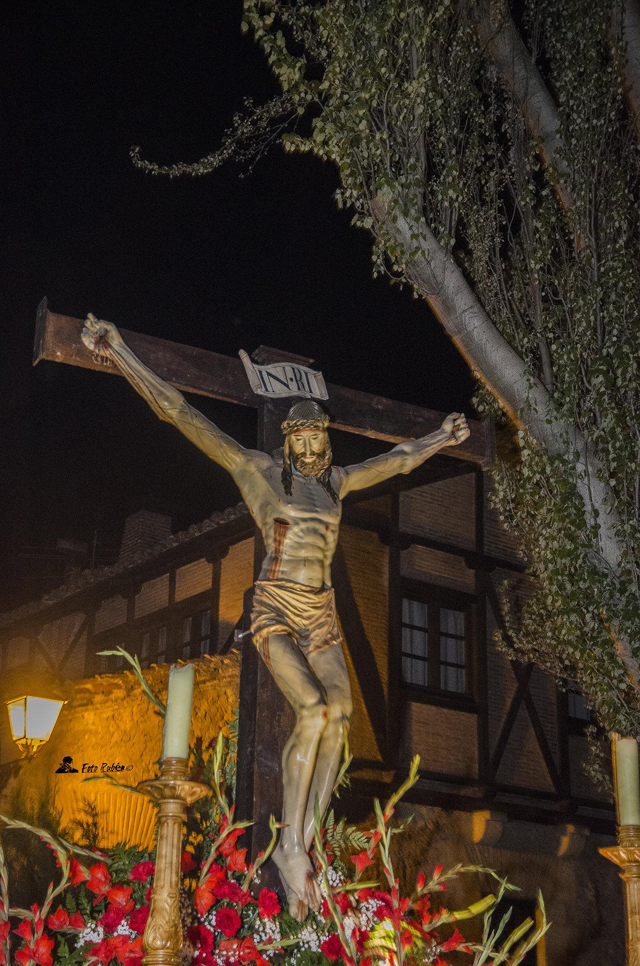 Santo Via Crucis y Procesión con la Imagen del Santo Cristo de la Paciencia, Segovia 2