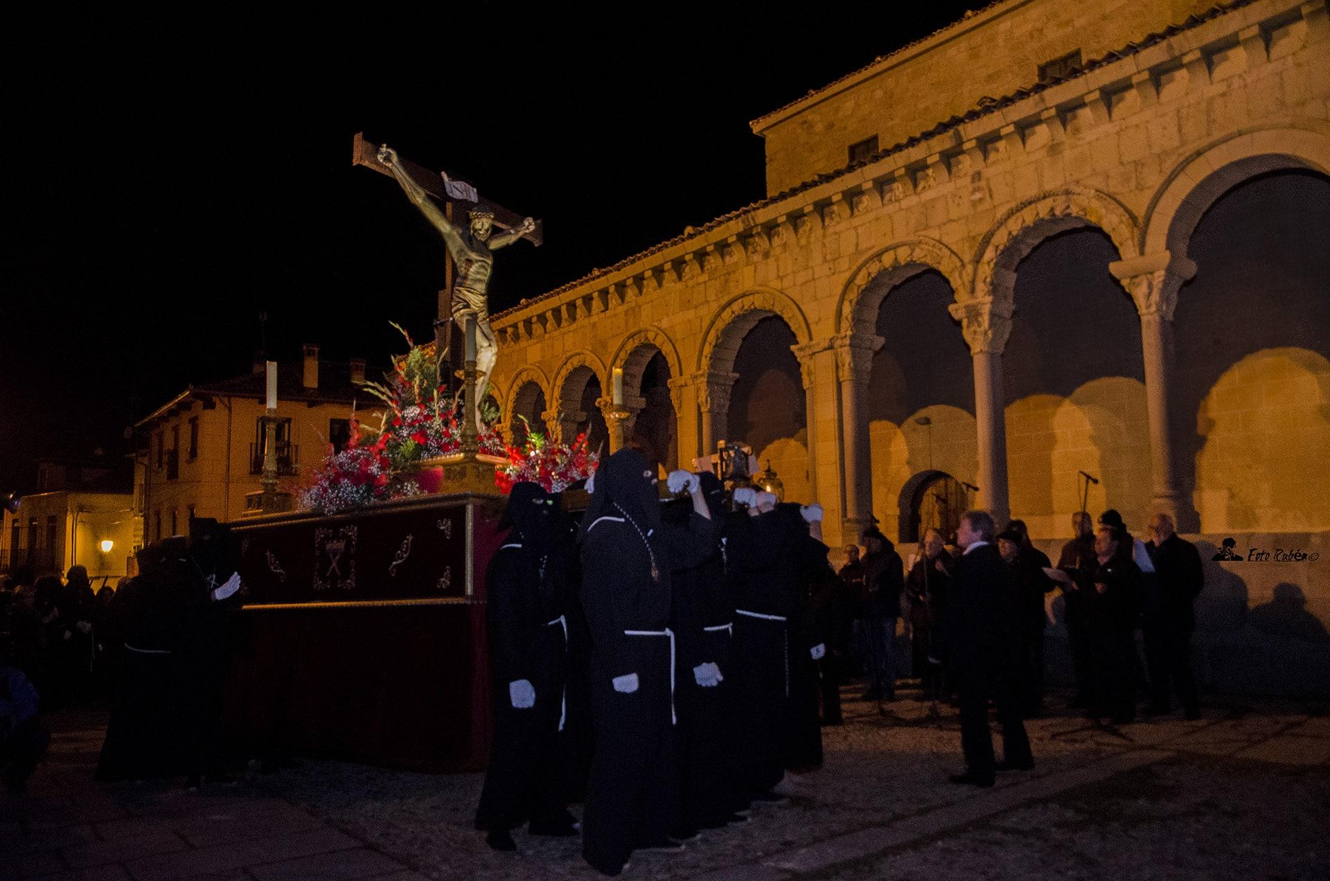 Santo Via Crucis y Procesión con la Imagen del Santo Cristo de la Paciencia, Segovia 3