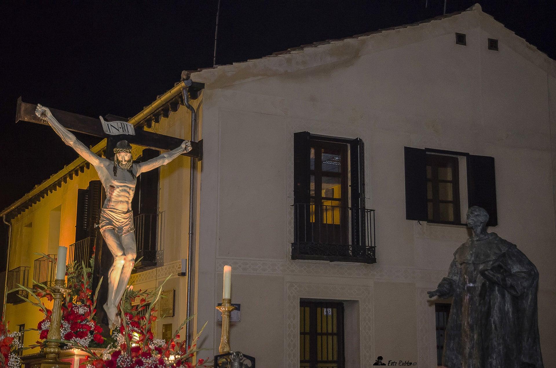 Santo Via Crucis y Procesión con la Imagen del Santo Cristo de la Paciencia, Segovia 4