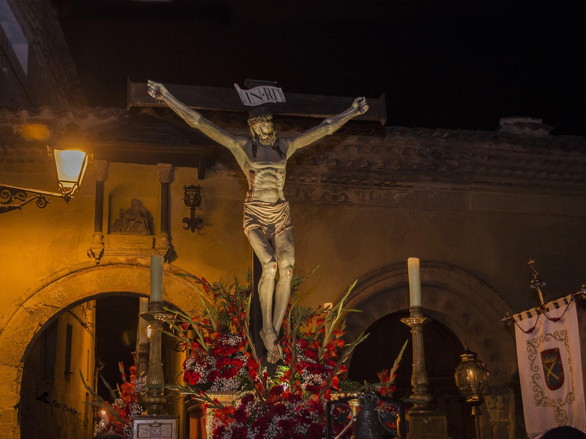 Santo Via Crucis y Procesión con la Imagen del Santo Cristo de la Paciencia, Segovia 5
