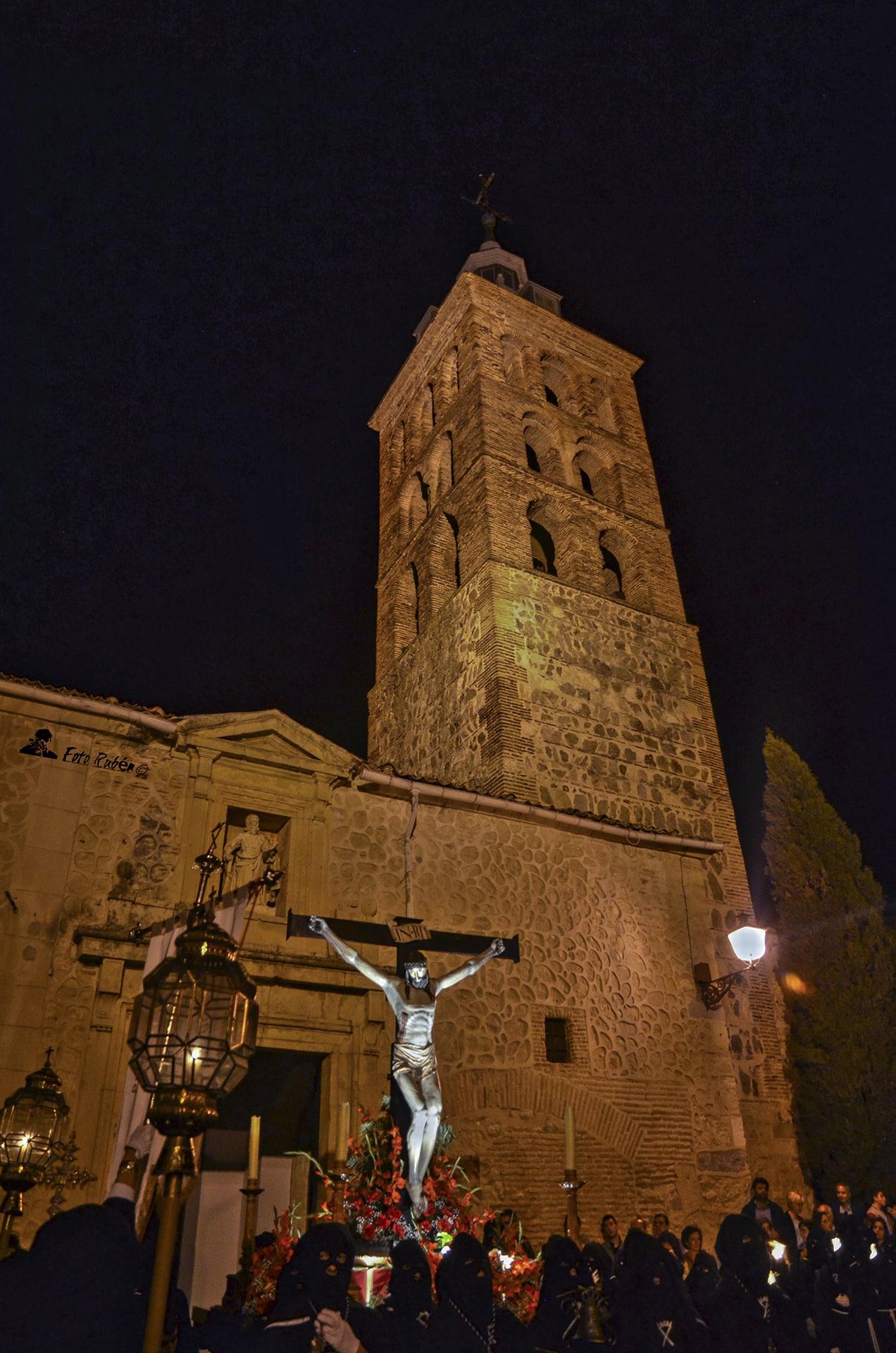 Santo Via Crucis y Procesión con la Imagen del Santo Cristo de la Paciencia, Segovia 6