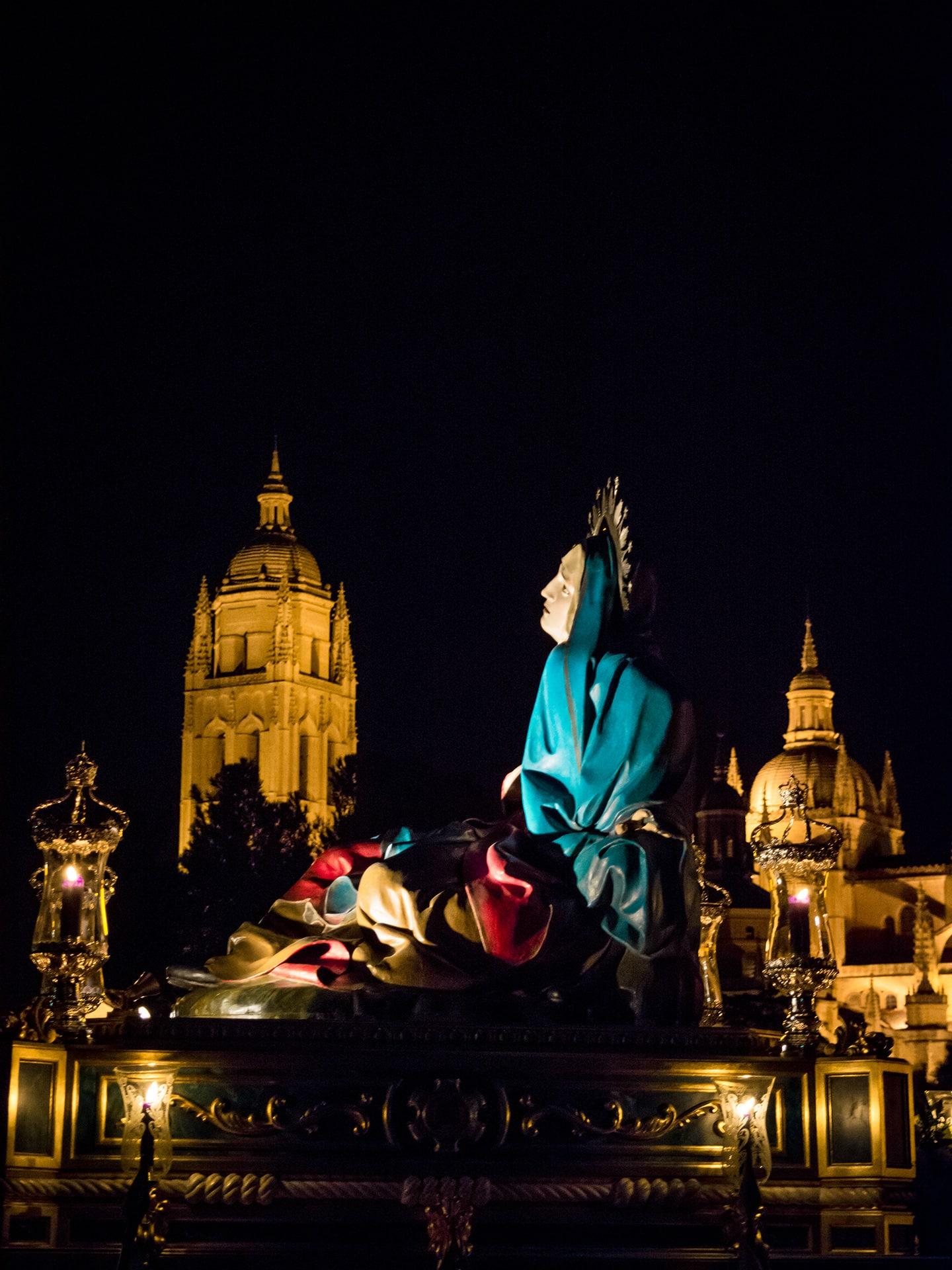 Virgen angustias, ADEMAR, colegio maristas, viernes dolores, Segovia (Manu Rodrigo)