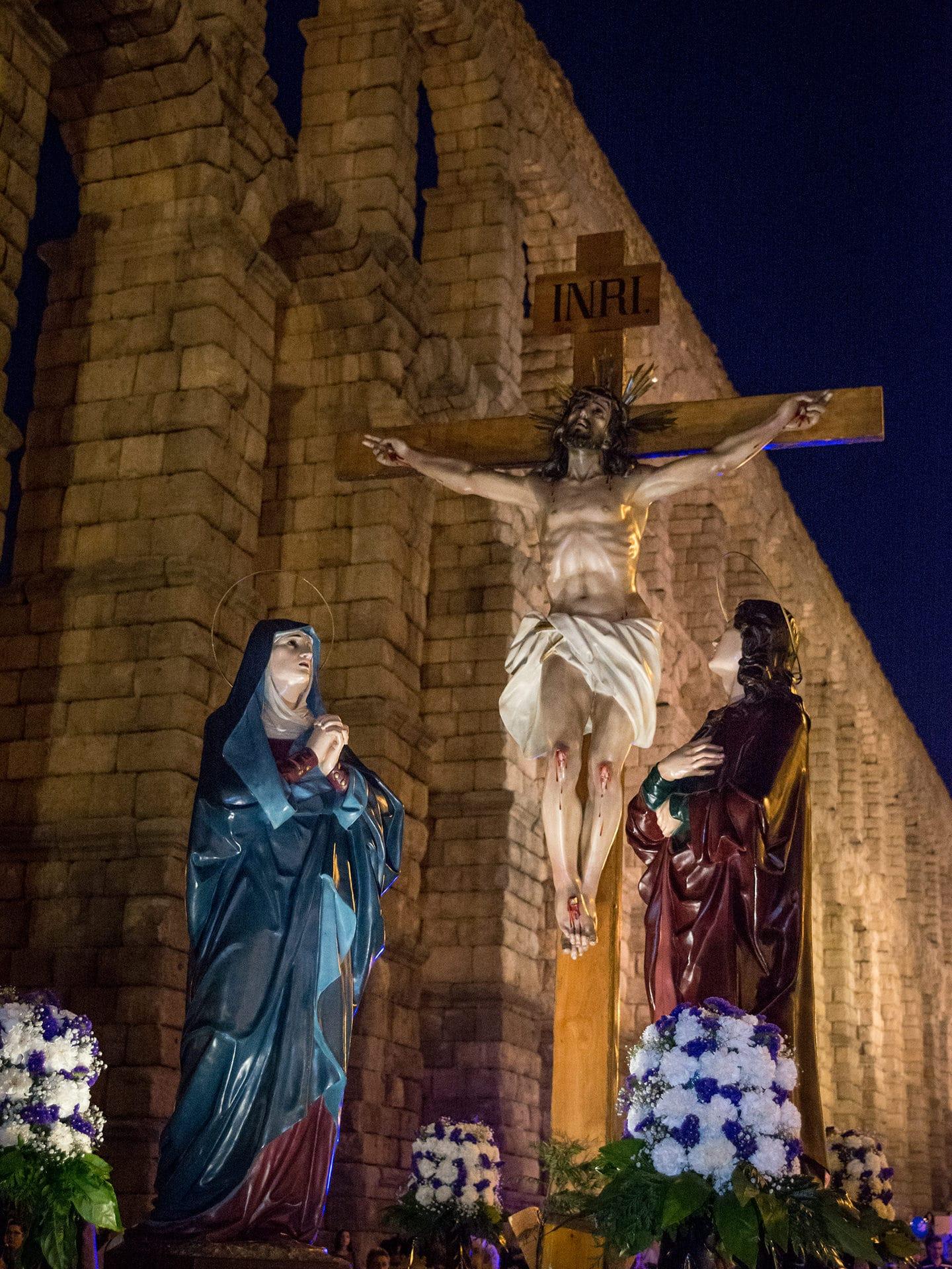 calvario, cofradia la piedad, iglesia san jose, jueves santo, Segovia (Manu Rodrigo)