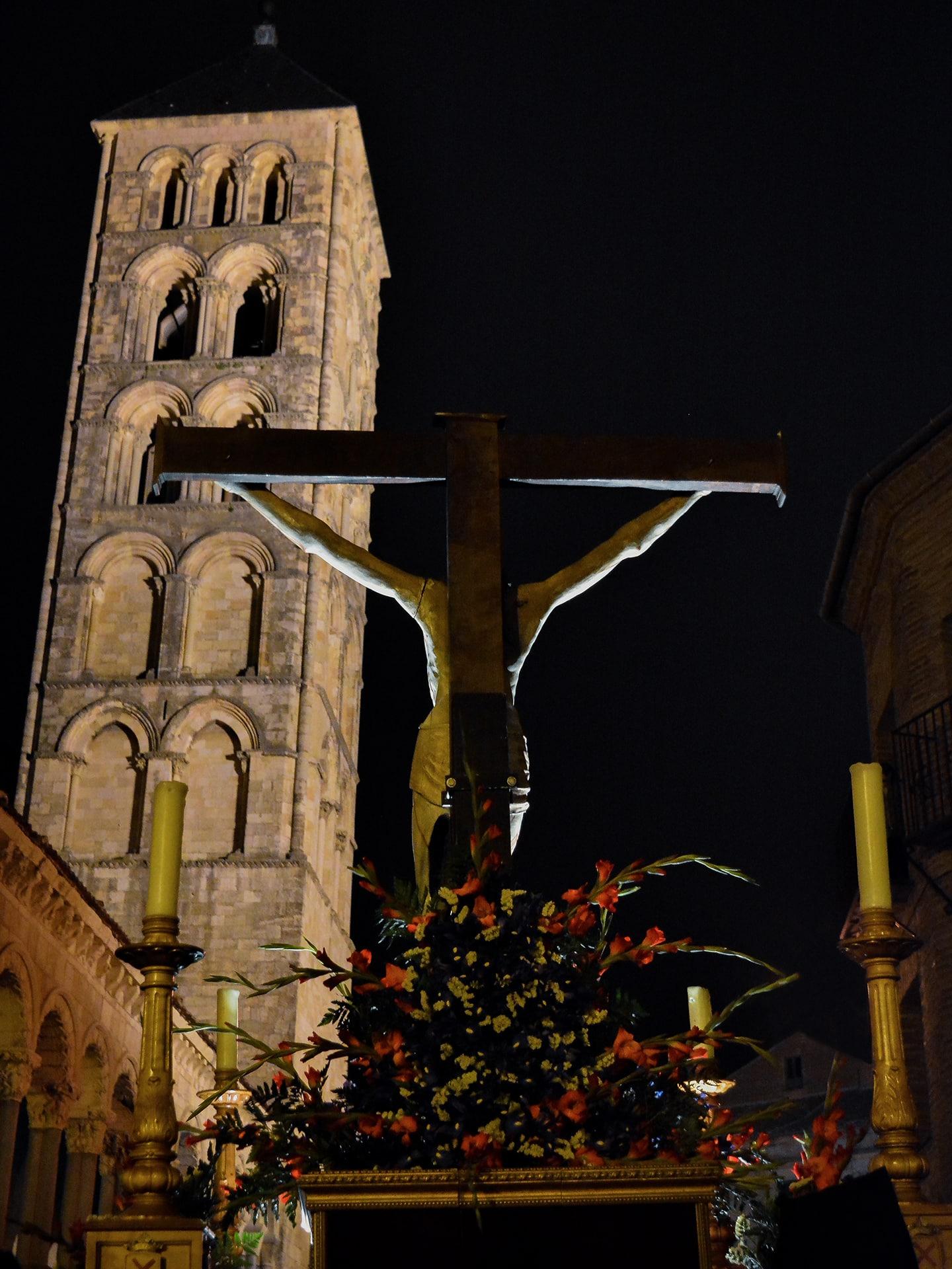 cristo de la paciencia, san andres, miercoles santo, Segovia (Manu Rodrigo)