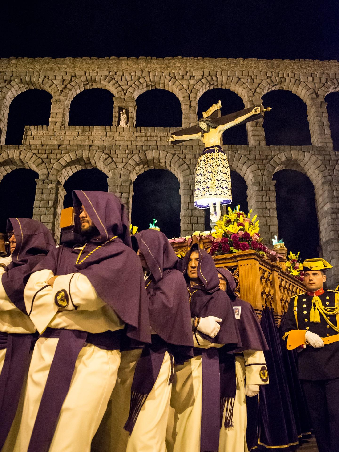 cristo del mercado, jueves santo, Segovia (Manu Rodrigo)