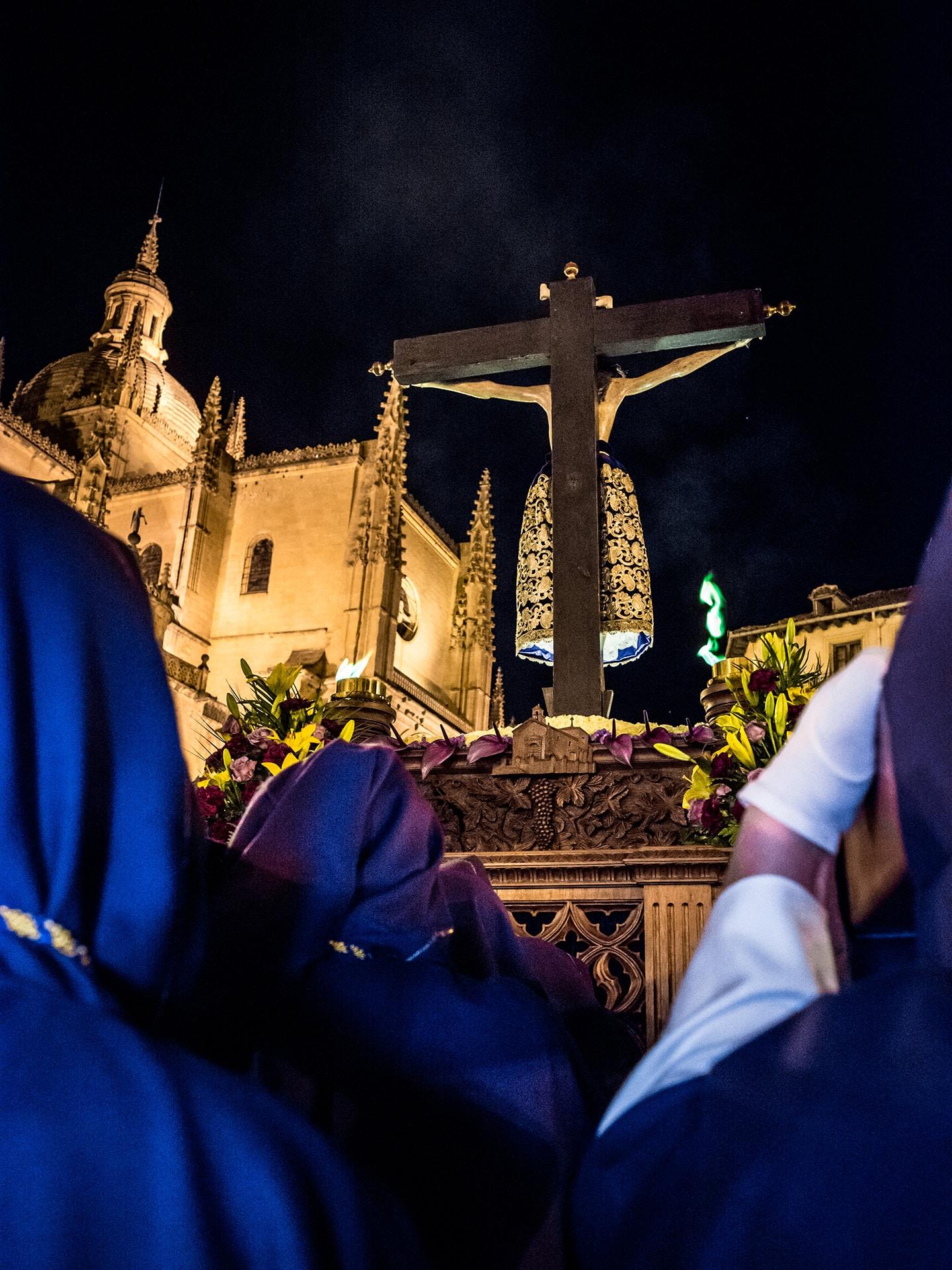 cristo del mercado jueves santo, Segovia (Manu Rodrigo)