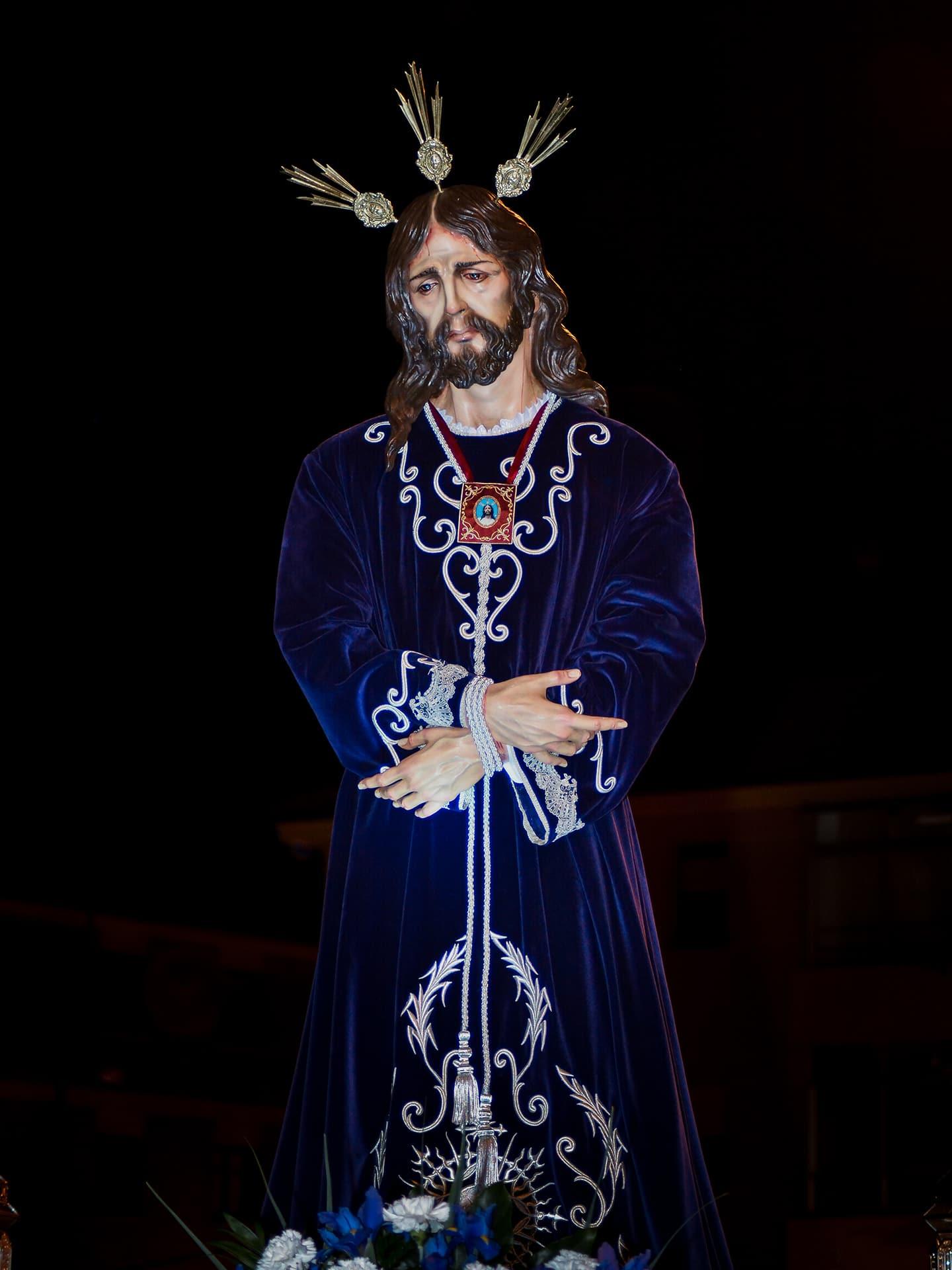 jesus cautivo, cofra. la piedad, san jose, miercoles santo, Segovia (Manu Rodrigo)