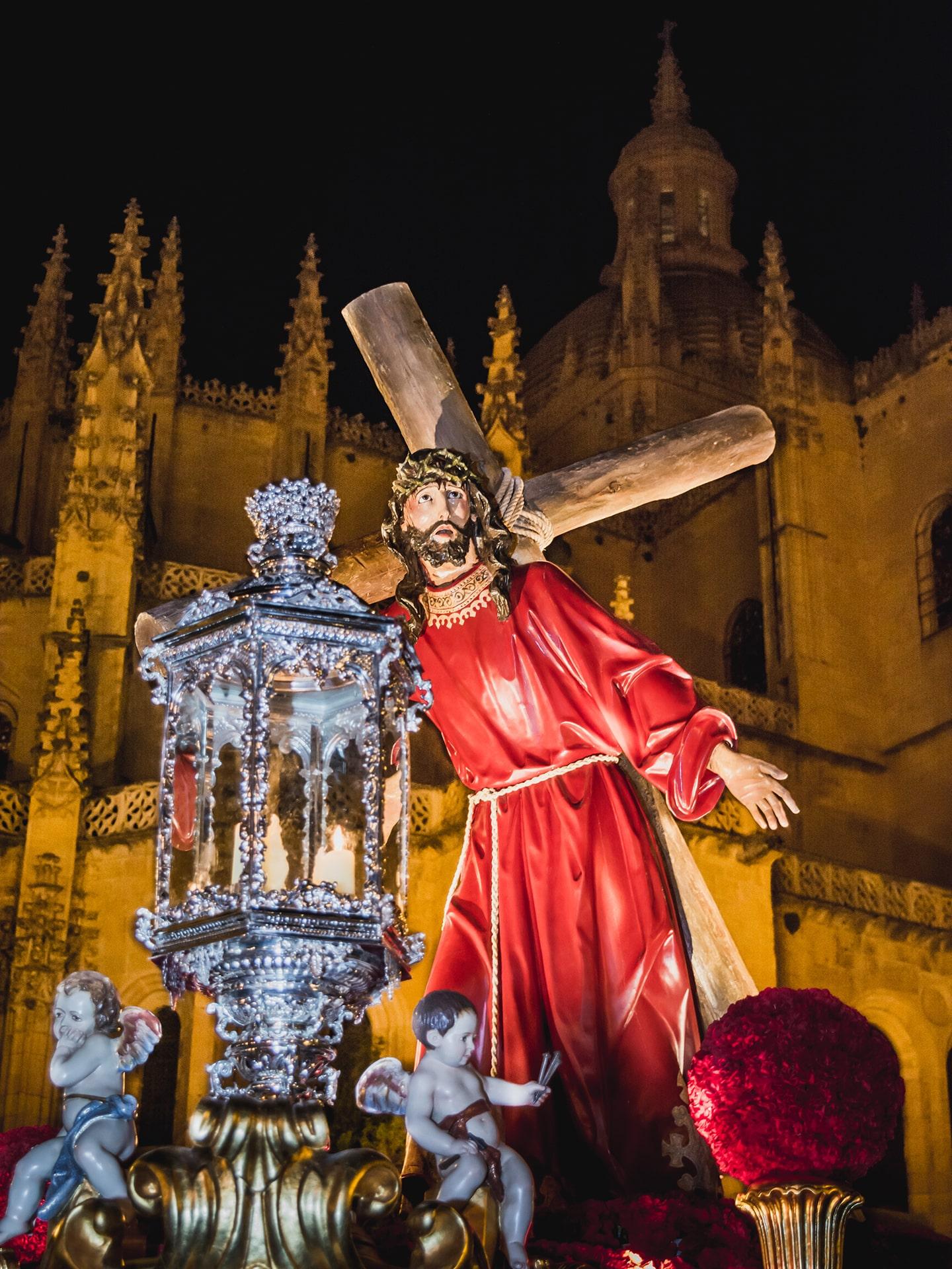 jesus con la cruz a cuestas, ADEMAR, jueves santo(1), Segovia (Manu Rodrigo)