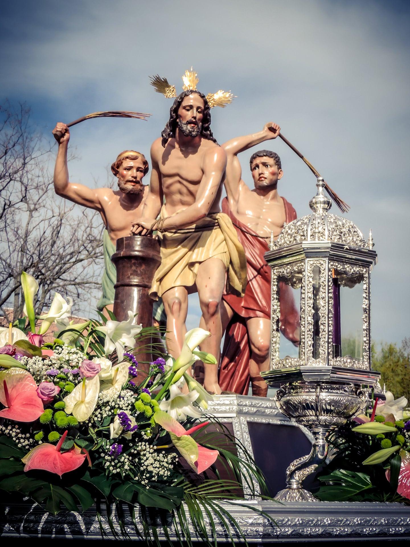 la flagelacion del señor, iglesia de nueva segovia, jueves santo, Segovia (Manu Rodrigo)