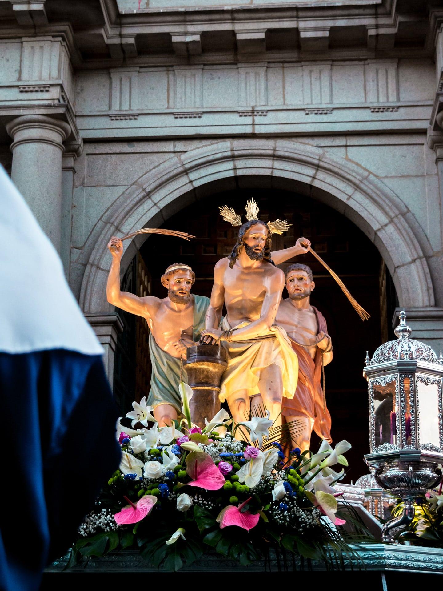 la flagelacion del señor, nueva segovia, viernes santo, Segovia (Manu Rodrigo)