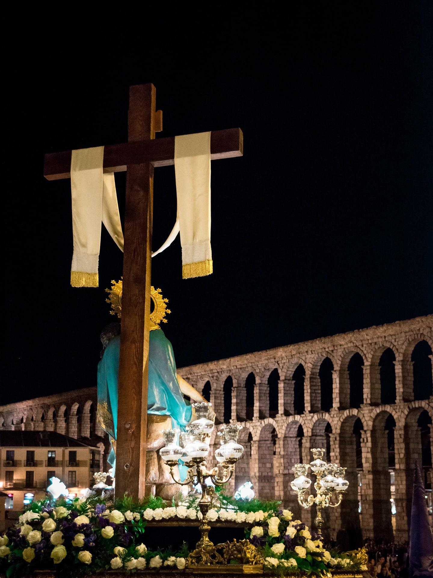la piedad, iglesia san jose, viernes santo, Segovia (Manu Rodrigo)