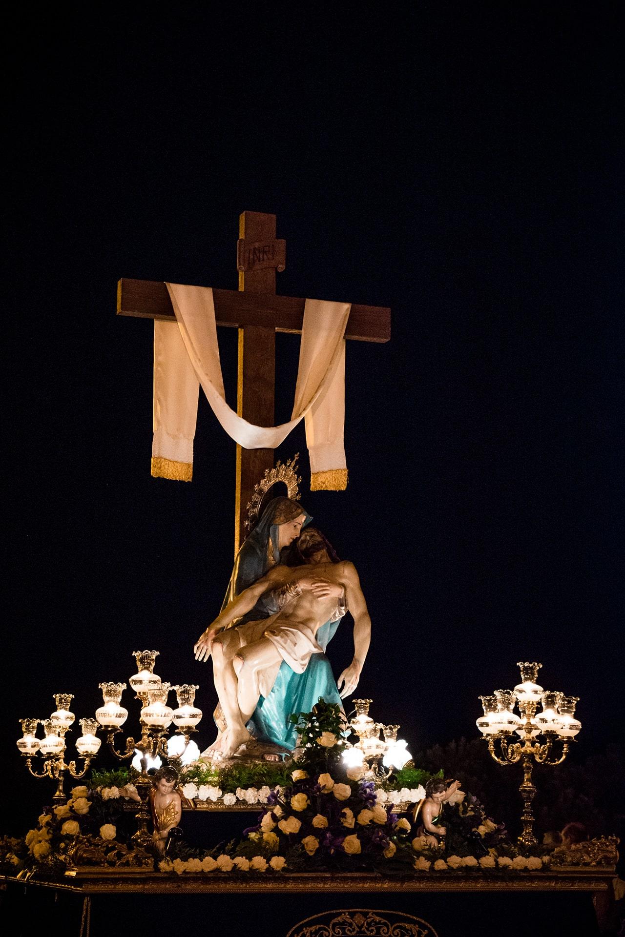 la piedad, san jose, viernes santo, Segovia (Manu Rodrigo)