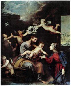 Sagrada Familia (Alonso Cano) San Agustín